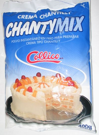 Crema Chantilly Collico