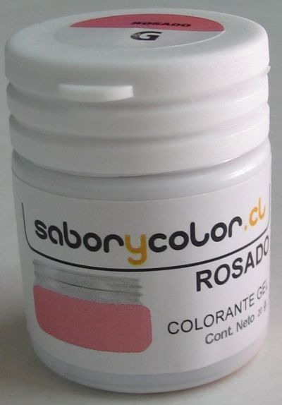 Colorante Gel Rosado 20g